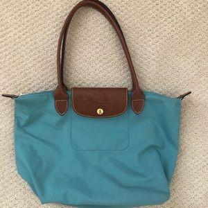 Medium Turquoise LongChamp Bag